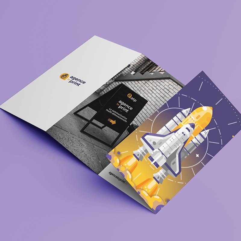 Impression petit format brochure