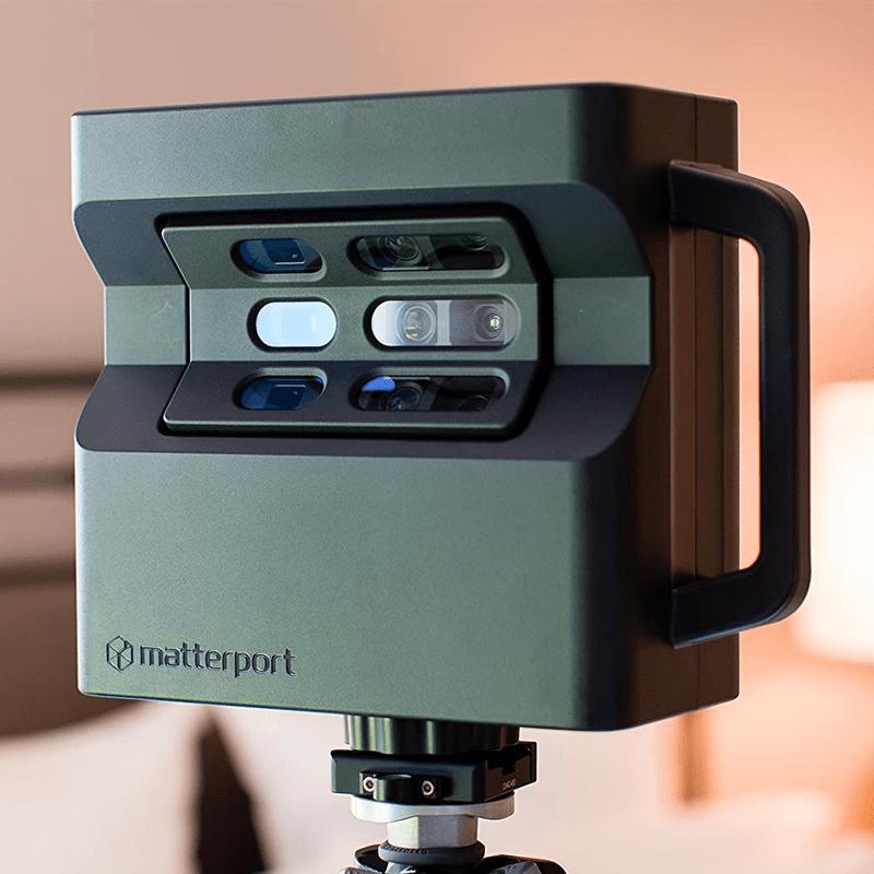 Photo d'une machine qui permet de créer des visite virtuelle